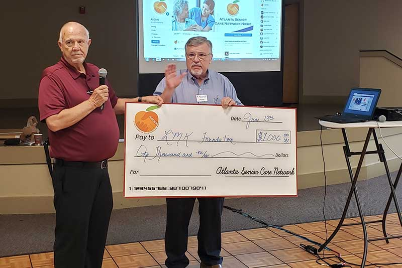 ASCNN June 2019 membership meeting check presentation